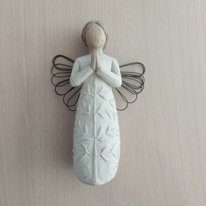 Willow tree figurine a tree, a prayer